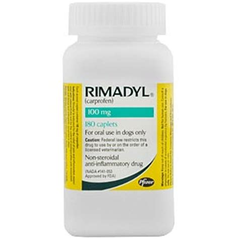 rimadyl 100mg for dogs rimadyl carprofen for dogs 100 mg 180 caplets vetdepot