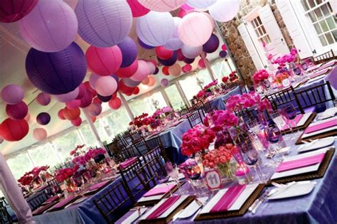 nicolarobyn events wedding colors pink and purple
