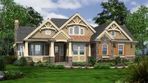 Craftsman Cottage One Story Craftsman Style House Plans Craftsman Bungalow