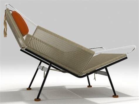 flag halyard chair pp225 flag halyard chair 3d model pp mobler