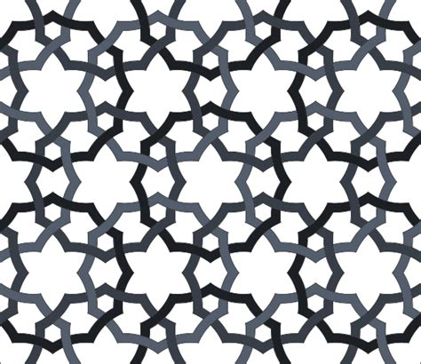 Clipart Pattern Png | interlaced oriental repeating pattern clip art at clker