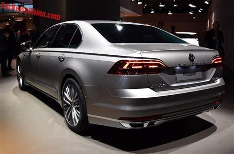 volkswagen phideon price volkswagen phideon debuts in geneva for china