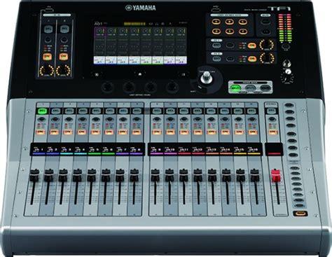 Mixer Yamaha Tf Series musikmesse 2015 yamaha tf series mixers insync sweetwater