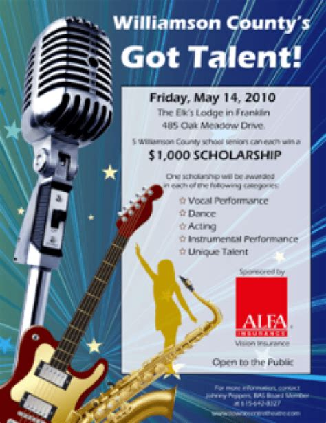 amazing talent show flyer templates word excel sles