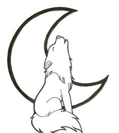 howling wolf coloring pages simple wolf drawings cliparts co