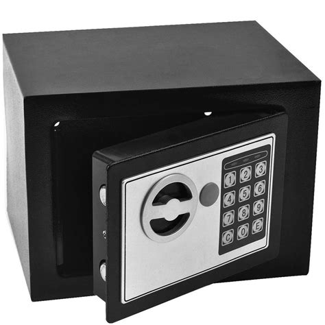 digital steel safe electronic security home office money