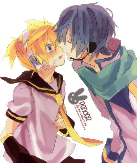 len q the gallery for gt vocaloid kaito and len