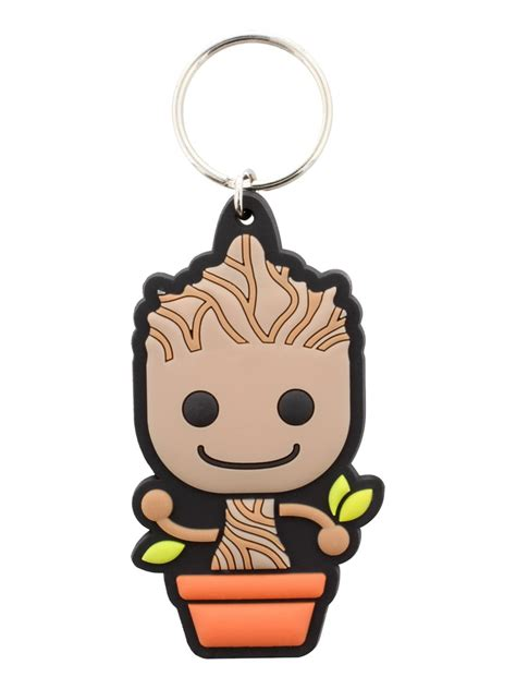 Keychain Groot 3 guardians of the galaxy baby groot rubber keychain buy
