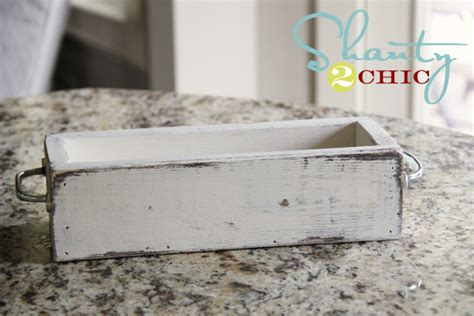 How To Paint Furniture To Look Distressed by Distress Paint With Vaseline Shanty 2 Chic