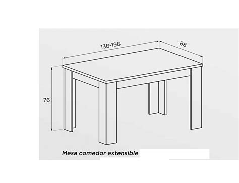 medidas mesa comedor mesa de comedor medidas estandar