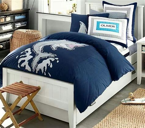 shark bedding shark bedding kids pinterest