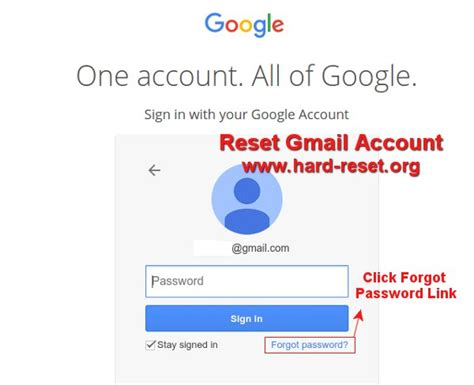 gmail reset password through phone how to restore forget gmail google account password at