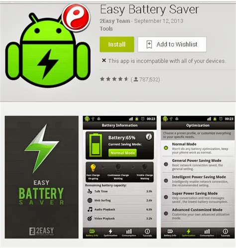 battery app for android android app easy battery saver information help site india