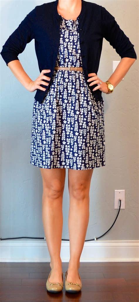 Dress With Cardigan 3 posts post blue floral dress navy cardigan gold belt