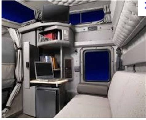 Semi Truck Inside Sleeper by Kenworth W900 Interior Sleeper Area Truck Sleepers