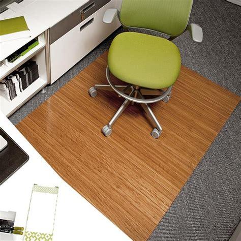 60 X 72 Chair Mat by Eco Bamboo Deluxe Rectangular Chair Mat 60 X 48