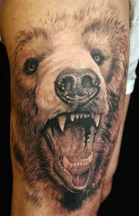grizzly bear paw tattoos cool tattoos designs