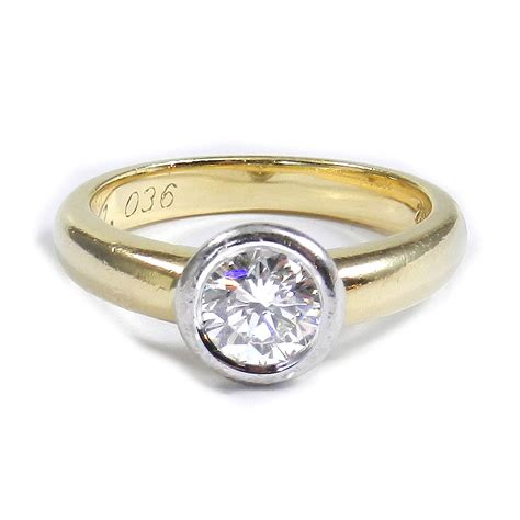 Ring Diamant by 1 Ct Diamant Solit 228 R Ring Mit Lupenreinem Brillanten In
