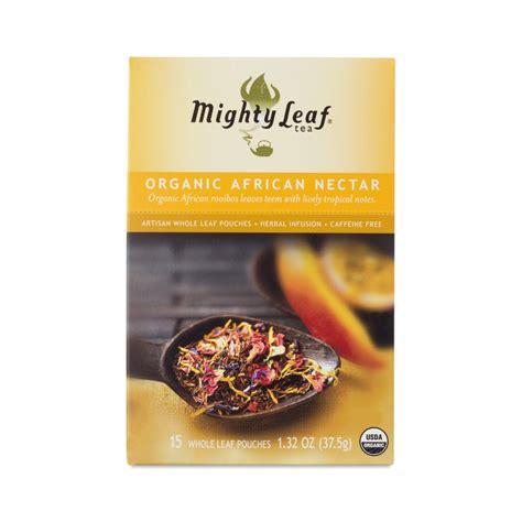 Mighty Leaf Organic Detox Tea Ingredients by Organic Nectar Tea By Mighty Leaf Thrive Market