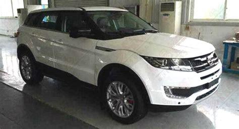 ford range rover look alike auto voici la copie chinoise du range rover evoque