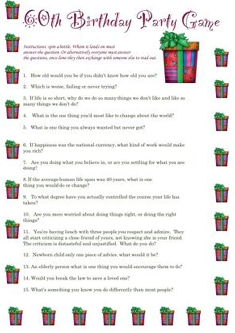 70s party games free printable games and activities for a 60th birthday party printable event ideas pinterest