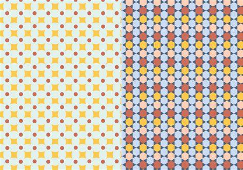 mosaic pattern vector ornamental mosaic pattern download free vector art