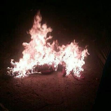 imagenes fuertes cota 905 delincuentes en la cota 905 queman a dirigente de ubch