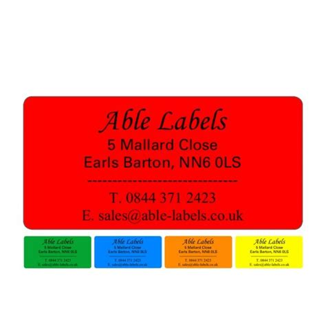 design your own label uk design your own label colour a4 sheet red colour