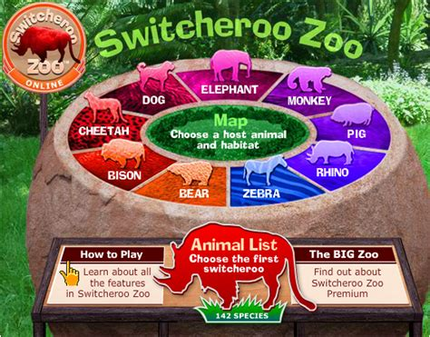 switch zoo make new animals switcheroo zoo mrs clary s elementary computer lab