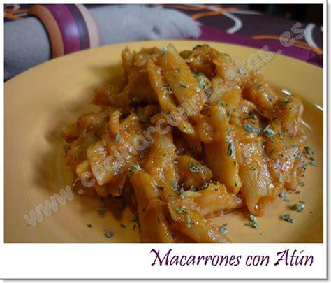 cocinar macarrones con atun macarrones con at 218 n cocinar con recetas