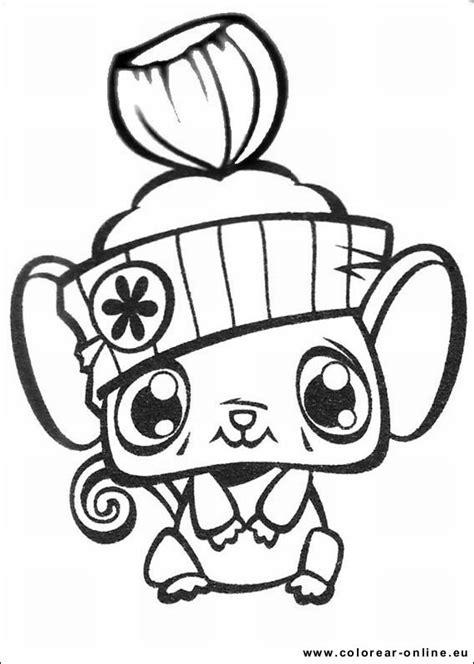 Colorear Dibujos De Littlest Pet Shop P 225 Gina 2 Dibujos Dibujos De Pet Shop Y Con Color