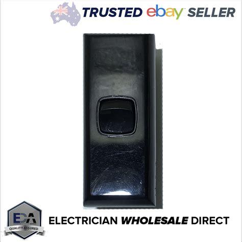 black on light switch black 1 architrave light switch single black narrow