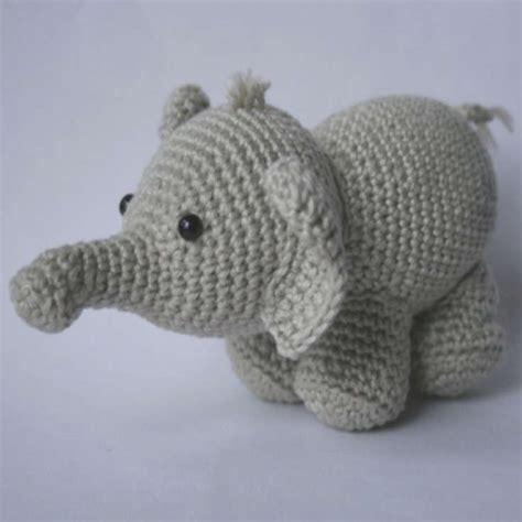 amigurumi elephant olivier the elephant amigurumi pattern wixxl