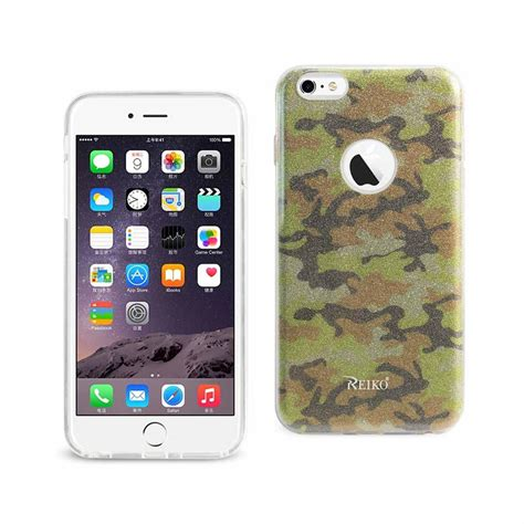 Army Iphone 6 6s Sku002095 reiko iphone 6 plus 6s plus design in army yellow dtpu02 iph6plsamyl the home depot