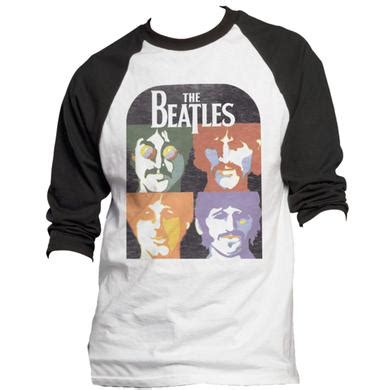 Kaos The Beatles Let It Be Raglan by The Beatles Shirts T Shirts Merchbar