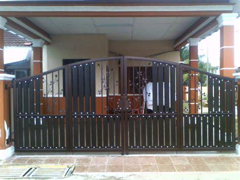membuat gate rumah wrought iron double leaf door mhs global resources