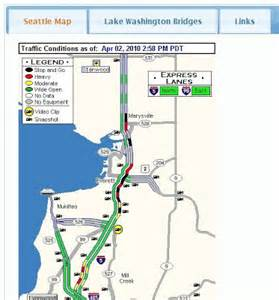 Seattle Area Traffic Flow Map by Seattle Area Traffic Chrome Web Store