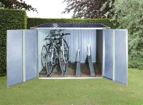 outdoor bicycle storage sheds road bike rider