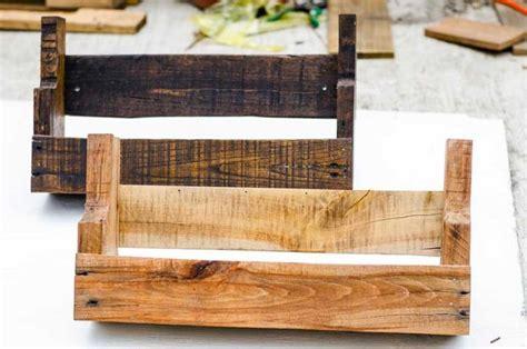 wood pallet shelves diy rustic pallet wood shelves