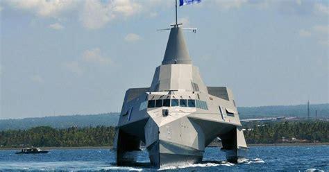 trimaran logistics world military strength