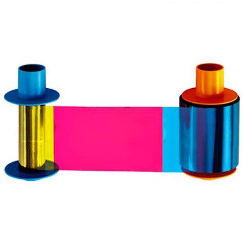 Ribbon Color Dtc4500e fargo ribbon 45215 doble negro para impresoras dtc4500 500