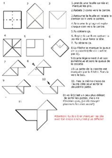 Heavy Origami Tutorial - pliage quot pouet pouet quot sali 232 re cocotte 224 photocopier et 224