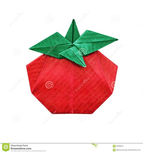 origami tomato tomate d origami stock photos royalty free images