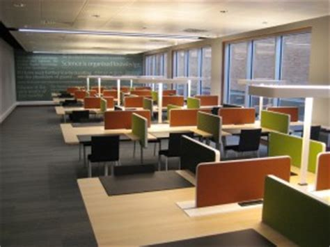 Study Room Gmu by Library S Refurbished 5th Floor Opens Library