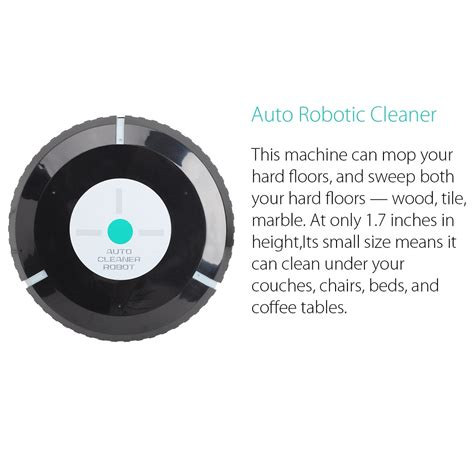 Robot Pembersih Debu Auto Cleaner Robot Sweeping Cleaning Machine Mesin