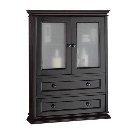 bathroom wall cabinets espresso foremost becw2331 espresso berkshire bathroom wall cabinet