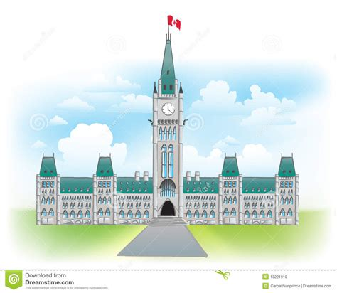 Online House Design Games parliament hill ottawa canada stock photo image 13221910