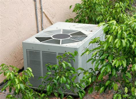 Best Patio Air Conditioner Landscaping For Central Air Central Air Reliability