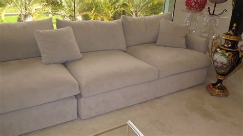 Oversized Modular Sectional Sofa 5 Pottery Barn Oversized Modular Sofa Sectional Set Lt Gray Oahu Auctions
