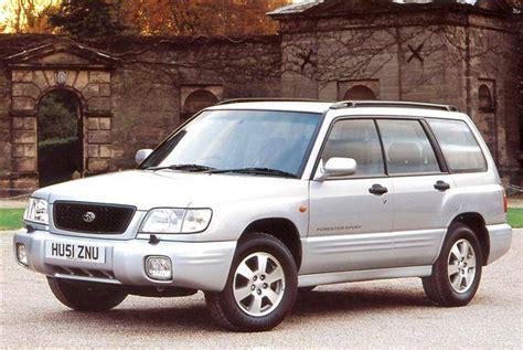 subaru forester review uk subaru forester 1997 2002 used car review car review